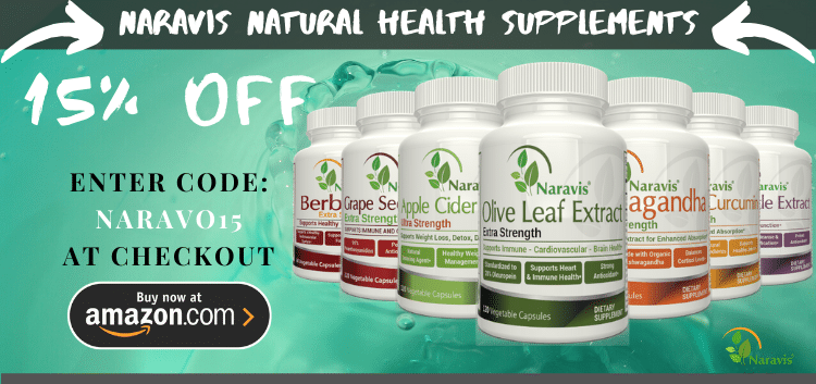 15% OFF All Naravis Supplements